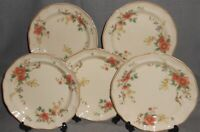 Set (5) 1980s Mikasa HERITAGE - CAPISTRANO PATTERN Salad Plates MADE IN JAPAN