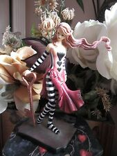 AMY BROWN Fairy Figurine KEY TO YOUR HEART Munro makers of Faerie Glen Fairies.