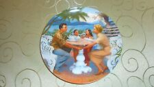 Complete Plate Set of 4 South Pacific Knowles Elaine Gignilliat Musical Charming
