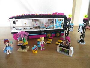 Lego Friends Pop Star - 41106 - Tournée en bus - Excellent Etat