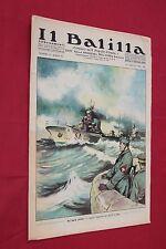 rivista a fumetti IL BALILLA Supplemento Popolo d'Italia ANNO XV N.15 (1937)