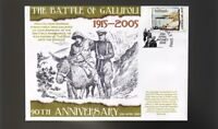 90th ANNIV OF GALLIPOLI ANZAC COVER, SIMPSON & HIS DONKEY