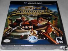 Harry Potter: Quidditch World Cup (Nintendo, Game Cube) NEW! y-folds!
