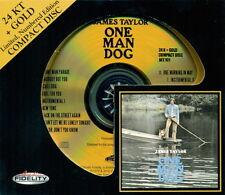 Audio Fidelity GOLD CD AFZ-101: James Taylor - One Man Dog - OOP 2010 LTD #d SS