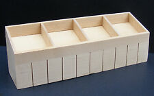 1:12 Scale Wooden Shop Display Counter Tumdee Dolls House Miniature Market 147nf