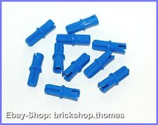 Lego Technic 10 x Verbinder Achspin blau - 43093 - Axle Pin Blue - NEU / NEW