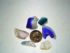 Assorted Surf Tumbled Sea Glass Lot 2024