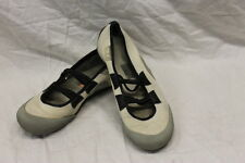 "Diesel Womens Beige Canvas Flats Size 8.5 Fair Used Condition ""SMOKE"""