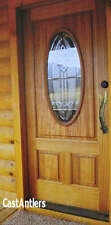 "13""  Faux Antler Door Deer Pull Handles (pair)  Cabin Lodge Decor Gate/Shed"