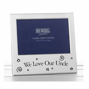 """We Love Our Uncle Photo Frame 5 x3.5"""" Birthday Fathers Day Gift Present Occasion"""