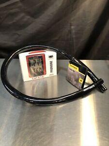 CatEye PADRONE Wireless Bike Computer With Free Kryptonite Key Lock - Both New
