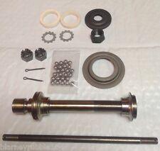 Harley W WL WLA WLD WLDR Springer Fork Front Axle Kit  37-52 Sleeve Bearings etc
