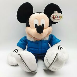 Disney Store 2011 Mickey Mouse Christmas Plush - Ice Skating 45cm winter New Tag