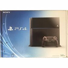 Sony PlayStation 4 Console 500 GB Black Very Good 7Z