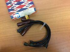 RENAULT 8 R8 TS JUEGO CABLES DE BUJIAS NEGROS spark plug wires
