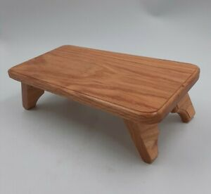 """Natural Wooden Writing Table Lap/Table Top Desk HAND CRAFTED BY DOUG FELT 14""""x7"""""""