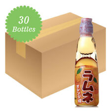 Hatakosen Ramune Soda - Orange Flavour 200ml (30 Bottles)