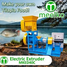Extruder To Make Your Own Tilapia Fish Food. Usa Warehouse Stock. Food Machine