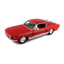 Maisto 31260 Ford Mustang Gt Red Scale 1:24 Model Car New! °