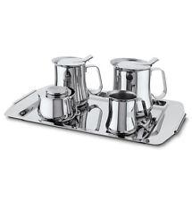 FAGOR cafecu style rétro edelstahl-set café thé milckännchen sugar bowl