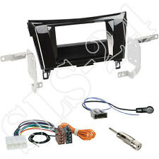 Nissan X-Trail (T32) ab 2014 Doppel-DIN Autoradio Blende+ISO Adapter+Antenne SET