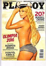 PLAYBOY, BABI ROSSI,DESIREE OLIVEIRA,RUSSEL CROWE,MARIJA Hungarian magazine