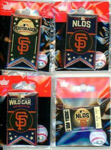 S.F. Giants 2016 MLB Playoff Pin Choice SF Postseason pins San Francisco NL West