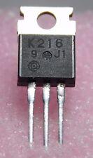 2SK216 / K216 / FET / TO220 / 2 PIECES (qzty)
