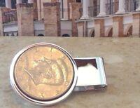 Dolan Bullock kennedy half dollar Coin Money Clip in Sterling Silver 92.5