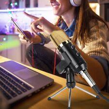 Professional Broadcasting Studio Recording Condenser Microphone w/Tripod Stand