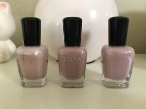 Brand New Zoya Nail Poliah Set Pinks / Mauve Jill Caresse Lauren