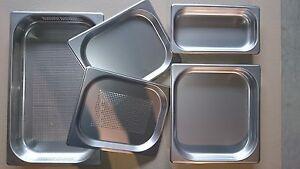 Deckel für Gastronormbehälter GN 1/4 - Edelstahl