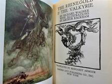 1939 RHINEGOLD VALKYRIE WAGNER GERMANIC MYSTICISM ARTHUR RACKHAM ILLUST.