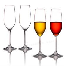 6OZ Unbreakable Champagne Flutes Glasses Tritan Plastic Wine Glasses BPA-free