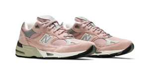 New Balance M991PNK Made In England Pink Grey DS Mens All Sizes Ready To Ship