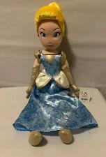 17� Disney Store Princess Cinderella Soft Plush Doll Toy Collectible Nwt
