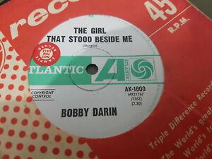 REASON TO BELIEVE // BOBBY DARIN US FOLK RARE OZ PRESS ATLANTIC 1967 PROMO