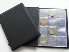 Collectors Coin  Album for 96 Coins  50p Olympic,Beatrix,old 50p ,£2 ,£1 SCHULZ