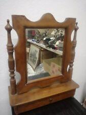 Specchiera psiche specchio da tavolo noce metà 800 autentica Luigi Filippo noce