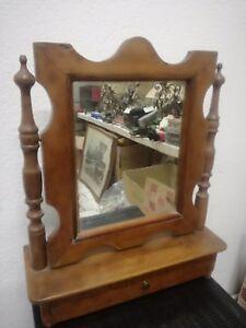 Spiegel Psyche aus Tabelle Walnuss Mid 800 Authentic Louis Philippe