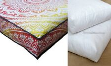 Indian Mandala Cotton Floor Cushion Pillow Cover Square Dog Bed Insert Cushion