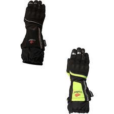 Nylon Exact All Leather & Textile Motorcycle Gloves