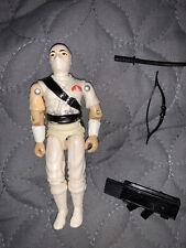 Vintage GI Joe STORM SHADOW 1984 Hasbro ARAH Action Figure 4 Accessories