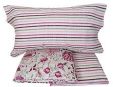 Lenzuola 1 piazza e mezza in flanella di cotone Shine colore rosa