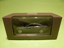 MINICHAMPS MERCEDES BENZ CLS CLASS- PERLIT GREY METALLIC  1:43 - NMIB