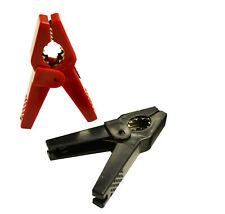 Crocodile Clips Electrical Battery Connectors Alligator Clamps,FREE POSTAGE-2PK