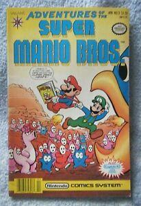 Adventures of the Super Mario Bros. #3 (Valiant, 1991) F/VF Condition