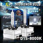 2pcs D1S 8000K D1R D1C Ice Blue HID Xenon Light Headlight Bulbs OEM Replacement