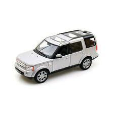 Welly 24008 Land Rover Discovery 4 Argento Scala 1:24 Modellino Auto Nuovo !°