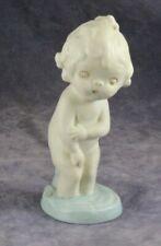 """Vintage 5"""" Bisque Campbell Kid Doll Figurine - September Morn - Grace Drayton"""